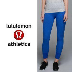Lululemon Blue Seamless Leggings